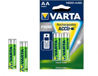 VARTA PhonePower Akku f. Schnurlostelefone 2er AA