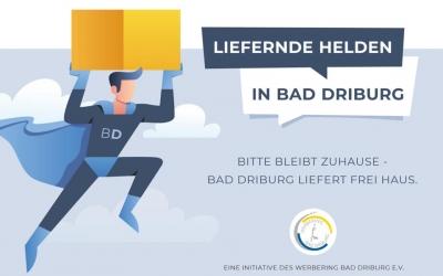 Bad Driburg liefert frei Haus