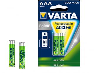 VARTA PhonePower Akku f. Schnurlostelefone 2er AAA