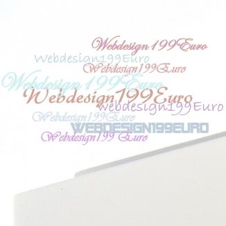 WEBDESIGN 199 Euro