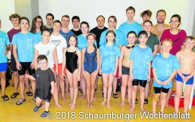 Rettungsschwimmer auf hohem sportlichen Niveau