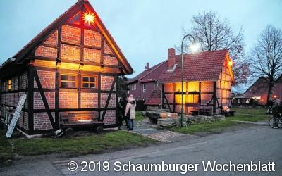 Backhaus erstrahlt im LED-Licht