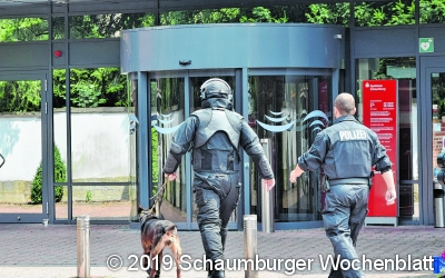 Sparkassenfilialen evakuiert nach Bedrohungslage