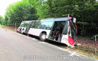 Der Busfahrer  verstirbt nach Unfall