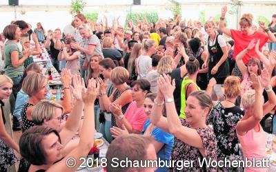 Drei Tage Partyfieber in Pollhagen