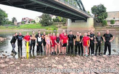 Neue Herausforderungen bei Niedrigwasser-Rettungseinsätzen