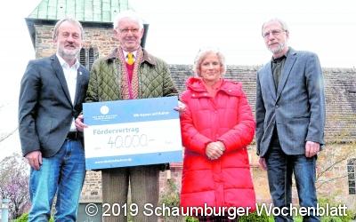 Deutsche Stiftung Denkmalschutz steuert 40.000 Euro bei