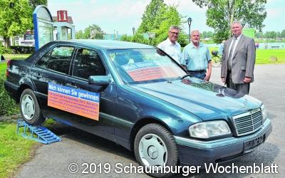 Gewinnchance 1 : 2.000 für Mercedes