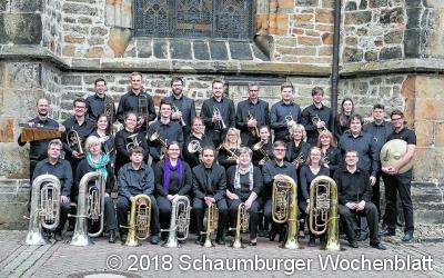 Brass-Band-Konzert und Eröffnung des Weinfestes