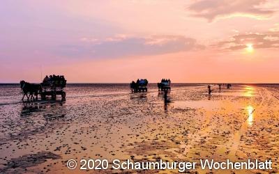 Eine Aufnahme aus Cuxhaven-Duh...