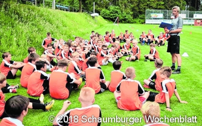 Ferien-Fußballschule  begeistert 64 Kinder