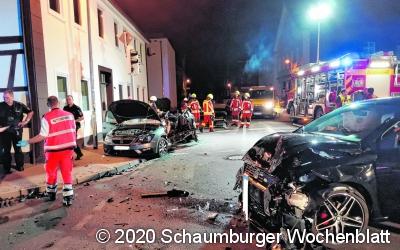 Verkehrsunfall mit schwer verletzter Person