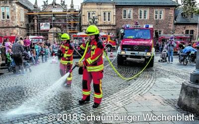 Ein Aktionstag in der Bückeburger Innenstadt