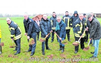 Neues Feuerwehrgerätehaus nimmt Gestalt an