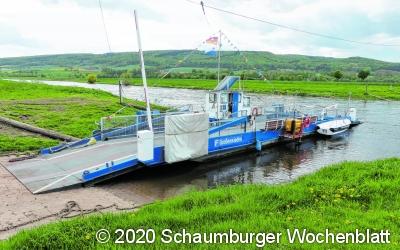 Weserfähre nimmt Betrieb auf