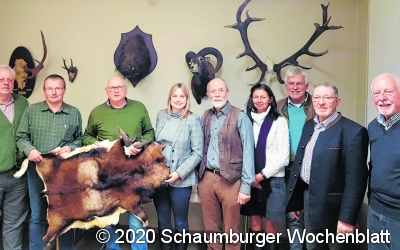 Im Gespräch mit der Jägerschaft  und der Muffelwild-Gemeinschaft