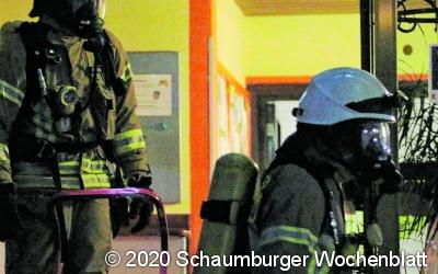 Großaufgebot verhindert Ausbreitung des Feuers