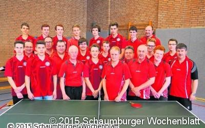 40 Jahre Tischtennisbei Fortuna Lauenhagen