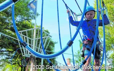 Freizeitpark für Kinder eingerichtet