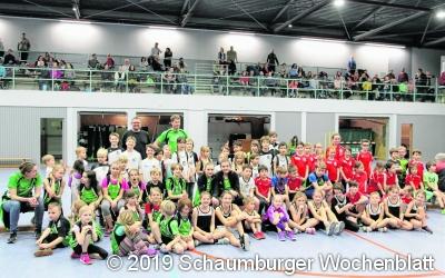 Hallensportfest begeistert junge Athleten