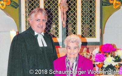 Hildegard Stahlhut feiert ihre
