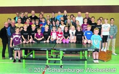 Großes Interesse am Tischtennis der SGR