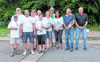 Veranstalter gewinnt Boule-Turnier