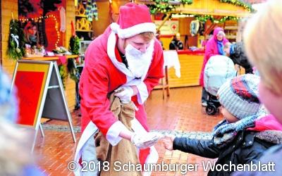 Der Nikolaus besucht Rodenberg