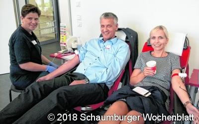 Mit einer Blutspende Leben retten