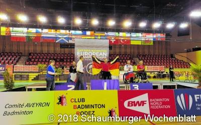 Zwei Europameistertitel für einen Lindhorster