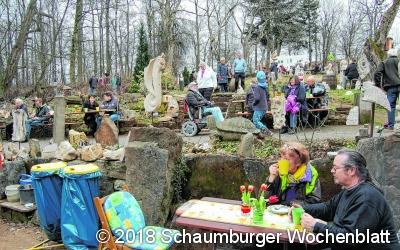 Steingarten feiert Jubiläum