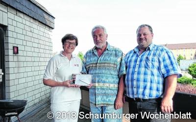 Johannes Steinig spendet zum 60. Mal Blut