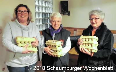 Frauenpower beim Osterpreisschießen