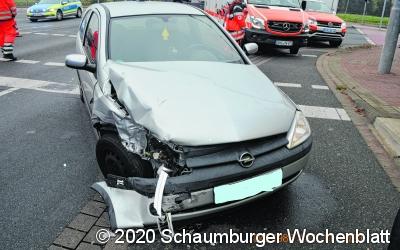 Fahrer missachtet Rot