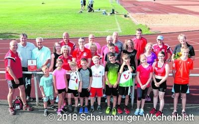 VfL Stadthagen für Einsatz für Sportabzeichen geehrt