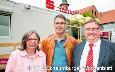 Sparkasse fördert den Sportverein