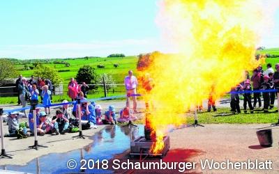 Feuerwehrnachwuchs lässt sich feiern