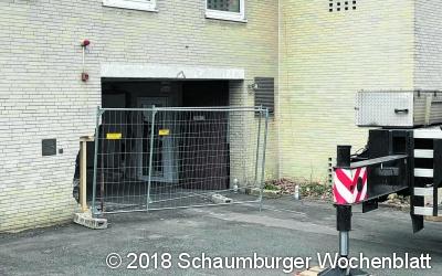 Unfall an der Kurhaus-Baustelle