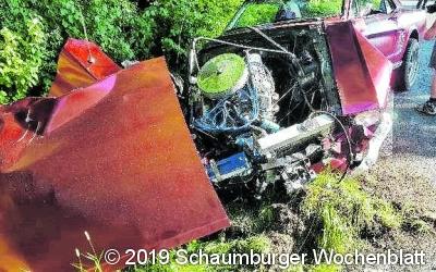 Zusammenstoß mit Personenschaden auf L443