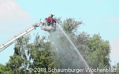 Feuerwehren werden zunehmend gefordert