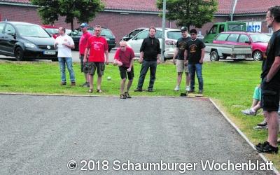 SV Sachsenhagen organisiert  die Boule-Stadtmeisterschaft