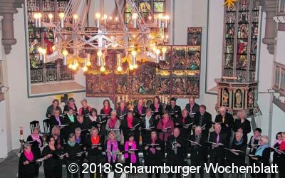 Chor begeistert in der  St. Bartholomäus-Kirche