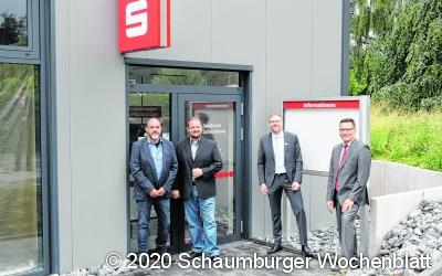 Sparkasse Schaumburg eröffnet direkt an der B 83