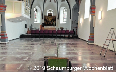 Einladung zur feierlichen Wiedereröffnung nach aufwendiger Sanierung der Kirche
