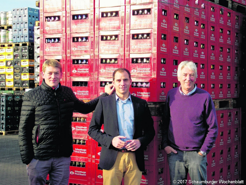 Schaumburger Wochenblatt » Maik Beermann zu Besuch bei Getränke ...