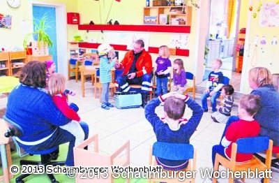 schaumburger wochenblatt im brandfall richtig reagieren der kindergarten in helsinghausen. Black Bedroom Furniture Sets. Home Design Ideas