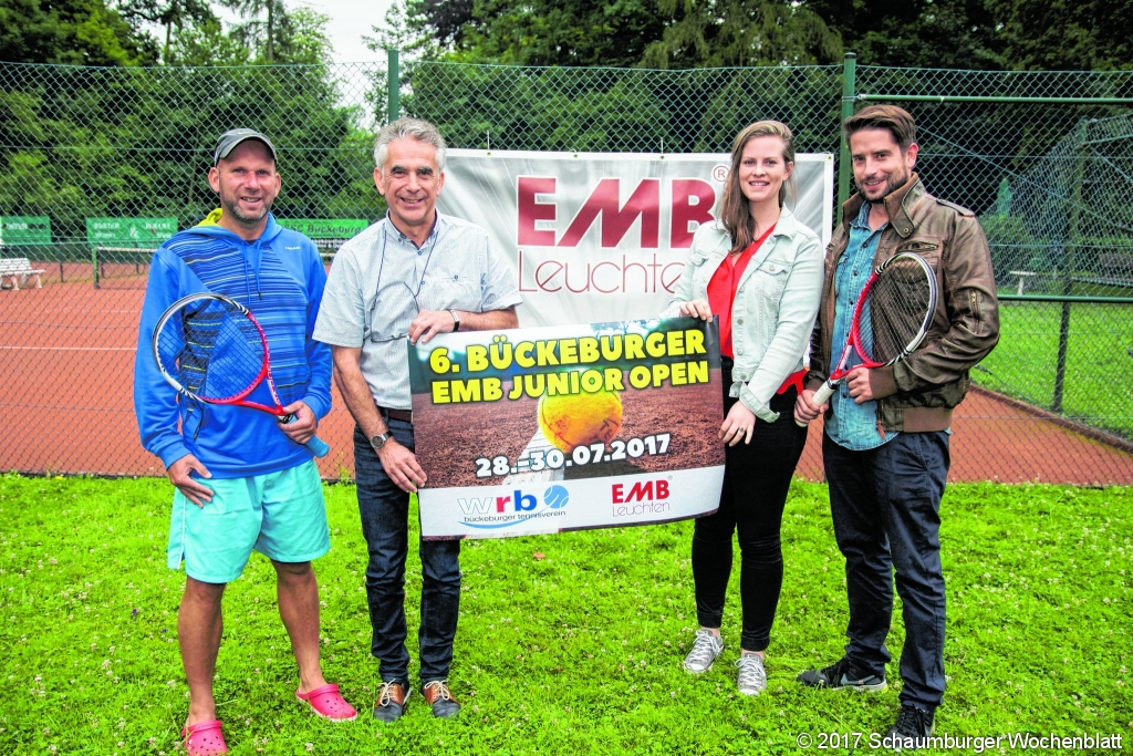 Emb Leuchten schaumburger wochenblatt aufschlag emb junior open nationales
