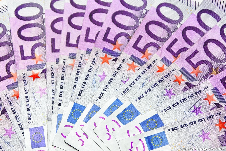 Lila Euro Schein