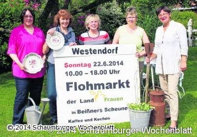 schaumburger wochenblatt flohmarkt mit den landfrauen veranstaltung am sonntag dem 22 juni. Black Bedroom Furniture Sets. Home Design Ideas