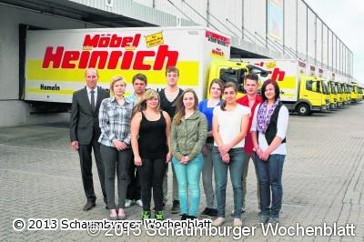 Schaumburger Wochenblatt Bei Mobel Heinrich Starten Elf